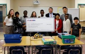 LBJIG surprises CFB ISD Students with $40,000 STEM check